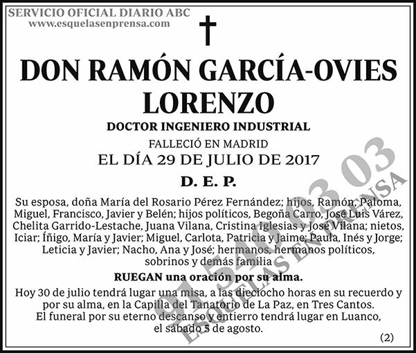 Ramón García-Ovies Lorenzo